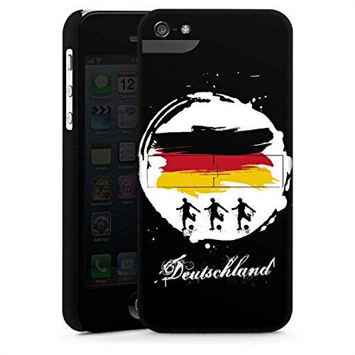 Apple iPhone X Silikon Hülle Case Schutzhülle deutschland fussball fußball Premium Case StandUp