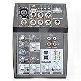 QSM 5 Input Kanal Mixer Mischpult Mic Preamp und USB Audio Interface