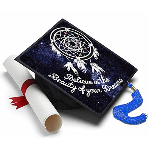 e in The Beauty-Graduation Cap Verziert Grad Kappen ()