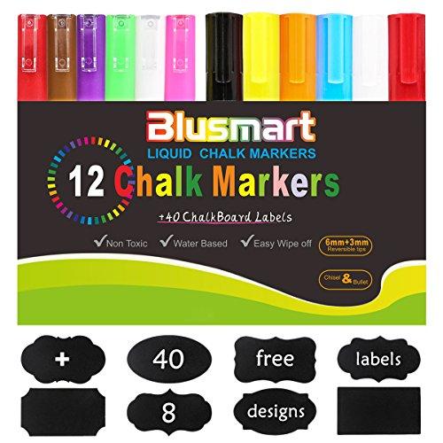 pennarelli-gesso-liquido-di-blusmart-12-pennarelli-a-gesso-liquido-colori-assortiti-brillanti-punta-
