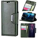 Danallc HTC U12 Life Case Wallet Leather, HTC U12 Life Case With Card Holder And Kickstand, HTC U12 Life Wallet Case With Excellent, Excellent Case Case Compatible With HTC U12 Life Green