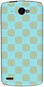 The Racoon Grip printed designer hard back mobile phone case cover for Lenovo S920. (Cyan Rango)