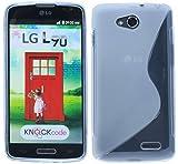 LG L90 Silikon Hülle Tasche Case Gummi Schutzhülle Zubehör in Transparent @ Energmix