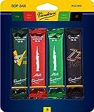 Vandoren Sopransaxophon Jazz Mix Karten Stärke 3