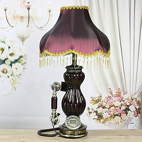 FDH Di stile Europeo in stile retrò/camera/soggiorno lampada da tavolo/creative