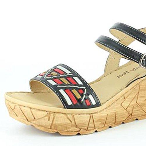 Pieds Célestes Pieds Célestes Sage Black Sandals, Sandali Donna Black