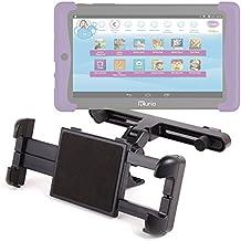 DURAGADGET Soporte Con Superficie Plana Para Cefatronic - Tablet Clan Motion Pro - Para El Reposacabezas De Su Coche