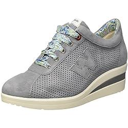 Melluso Donna-Walk, Sneaker, Blu (Jeans), 38 EU