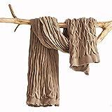 Ancoree Einfarbige Prägung Gestrickte Decke Büro Lässig Decken Einzelne Naptime Decke Gestrickte Decke für Eine Klimaanlage Zimmer,Weiche Plüsch Decke für Bett Sofa Sessel,Decke Gestrickt (Braun)
