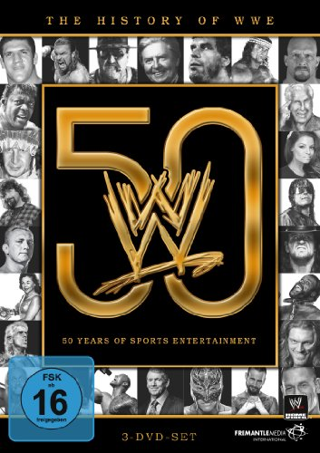 WWE - The History of WWE: 50 Years of Sports Entertainment [3 DVDs] (Dvds Wwe Wrestling)