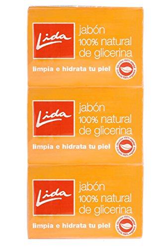 LIDA - JAB.LIDA GLICERINA 125 gr LOTE 3X2-unisex