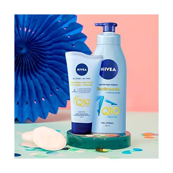 NIVEA Q10 Plus – Gel-Crema Anticelulítico + Reafirmante, para Reducir los Signos de la Celulitis, de Cuidado Corporal – 1 x 200 ml
