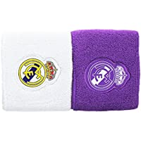 adidas S94901, Muñequeras Para Hombre, color Multicolor (Purple/White), talla OSFM, Pack de 2