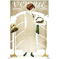 Vogue Vintage Covers Pop Art Poster Print Milllinery Number (PDP022) preiswert
