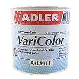 Grund- und Decklack ADLER VariColor nussbraun RAL8011 0,75l