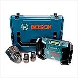 Bosch GML 10,8 V-LI Akku Radio in L-Boxx + 2 x GBA 10,8 V 2,5 Ah Akku + AL 1130 CV Schnelllader