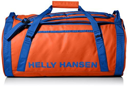 Helly Hansen Duffel Bolsa de deporte, 90 cm, 50 litros, Naranja/Azul