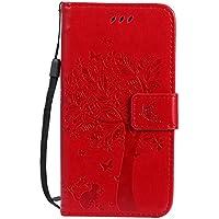 Motorola Moto G5 Hülle Rote im Retro Wallet Design,Cozy Hut Motorola Moto G5 Hülle Leadertasche Premium Lederhülle... preisvergleich bei billige-tabletten.eu