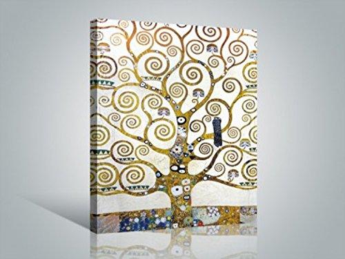 Gustav Klimt - L'Albero Della Vita (Dettaglio) Stampa Su Tela (80 x 60cm)