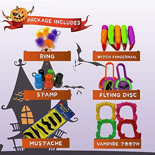 THE TWIDDLERS Set von 110 Halloween Thema Party Mitgebseln Scherzartikel - Perfekt für Partytaschenfüller - Pinatas - Geburtstag & Halloween Partys - Weihnachten Etc. - 4