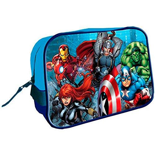 Disney Avengers Trousse de Toilette Carré, AST1057, 17 x 25 x 10 cms