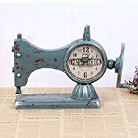 Hongge Relojes de Chimenea,Modelos máquina de Coser Cara Reloj máquina de Coser Antigua Reloj