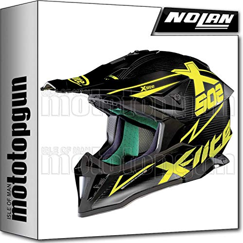 X-LITE CASCO MOTO CROSS X-502 ULTRA CARBON PURO 002 M