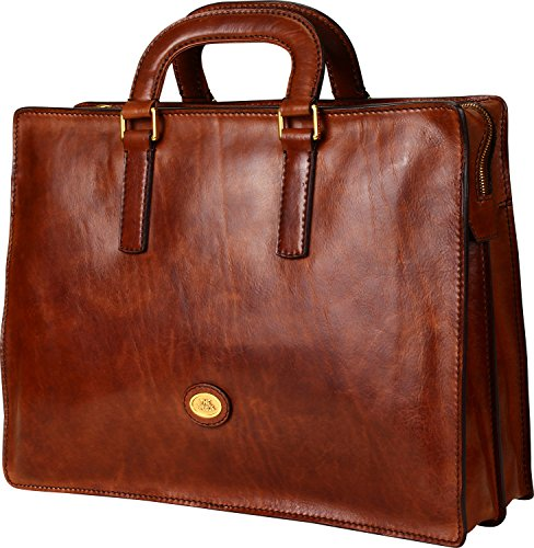The Bridge Story Uomo Briefcase 064269-01-14 braun, braun