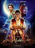 Affiche Cinéma Originale Grand Format - Aladdin (format 120 x 160 cm pliée) Année 2019