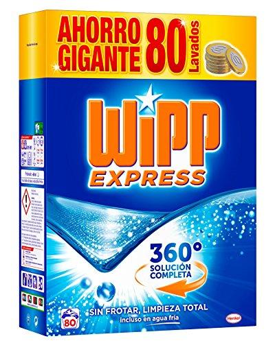 WiPP Express Detergente en Polvo - 80