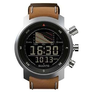 "SUUNTO Multifunktionsuhr Armbanduhr ""Ventus"" brown leather - Höhenmesser Kompass Barometer"