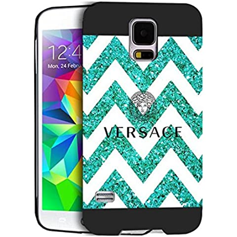 Versace Case Cover Samsung S5 I9600 Versace - [ Brand ] Galaxy S5 I9600 Cabina telefonica CustodiaCase Durevole For Ragazzi Versace Samsung Galaxy S5 I9600 Back Cover