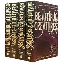 Beautiful Creatures Collection Kami Garcia Margaret Stohl 4 Books Set (Beautiful Darkness, Beautiful Creatures, Beautiful Chaos , Beautiful Redemption)