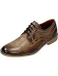 Klondike - Zapatos de cordones para hombre Marrón Schlamm