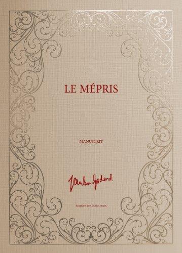 Le Mépris, le manuscrit (Edition Limitée à 1000 exemplaires numérotés) par Jean-Luc Godard