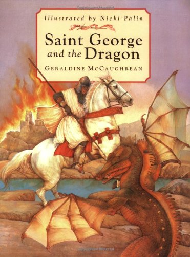Saint George and the dragon.