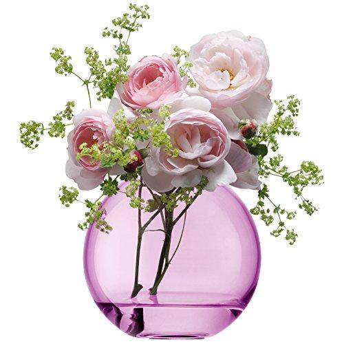 LSA Polka Rose Vase 11 cm