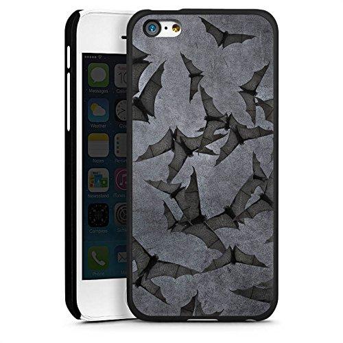 DeinDesign Hülle kompatibel mit Apple iPhone 5c Handyhülle Case Fledermaus Bat Vampir (Bat 5c Phone Case)