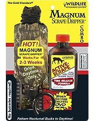 Investigación de Vida Silvestre 385 Magnum Dripper Combo Active-Raspe, 4 onzas líquidas