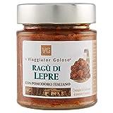 Il Viaggiator Goloso Ragu' di Lepre con Pomodoro Italiano - 145 g