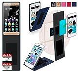 reboon Hülle für Gionee Marathon M5 Mini Tasche Cover Case Bumper   Blau   Testsieger