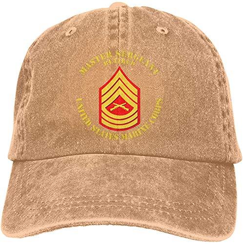 Yanyuz USMC Sargento Mayor Jubilado Adulto Sombrero