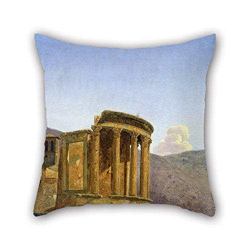 masoyy-oil-painting-falix-boisselier-the-temple-of-vesta-at-tivoli-pillow-shams-20-x-20-inches-50-by