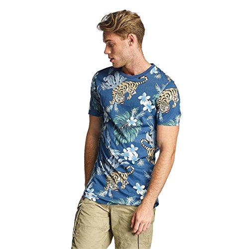 Jack & Jones Herren Oberteile / T-Shirt jjorMusa Blau