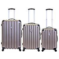 Slimbridge Lydd Set of 3 Hard Suitcases