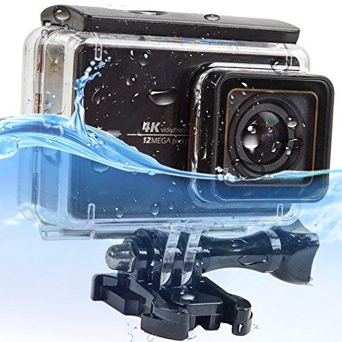 Galleria fotografica First2savvv XM2-FSK-CM-01 Immersioni caso alloggiamento impermeabile sott'acqua 30m subacquea con vetro lente Xiaoyi yi 2 4k action camera compatibile(touch screen backdoor)