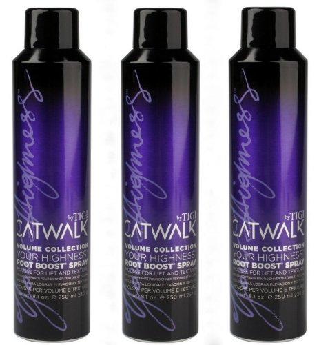 3 x TIGI Catwalk Volume Root Boost Spray 250 ml. (Root Boost Volume)