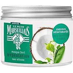 Le Petit Marseillais Masque Hydratation Eau de Coco Fleur d'Oranger 3 en 1 300 ml