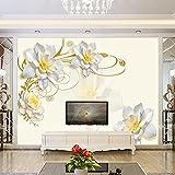 Tapete Experten-Stereo Jade Papier zur TV-Hintergrund Wand Tapete Blumen über das Schlafzimmer, Wohnzimmer, walls3dthe Nahtlose, wasserdicht, Wandbilder,