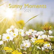 Sunny Moments 2021 - Wand-Kalender - Broschüren-Kalender - A&I - 30x30 - 30x60 geöffnet